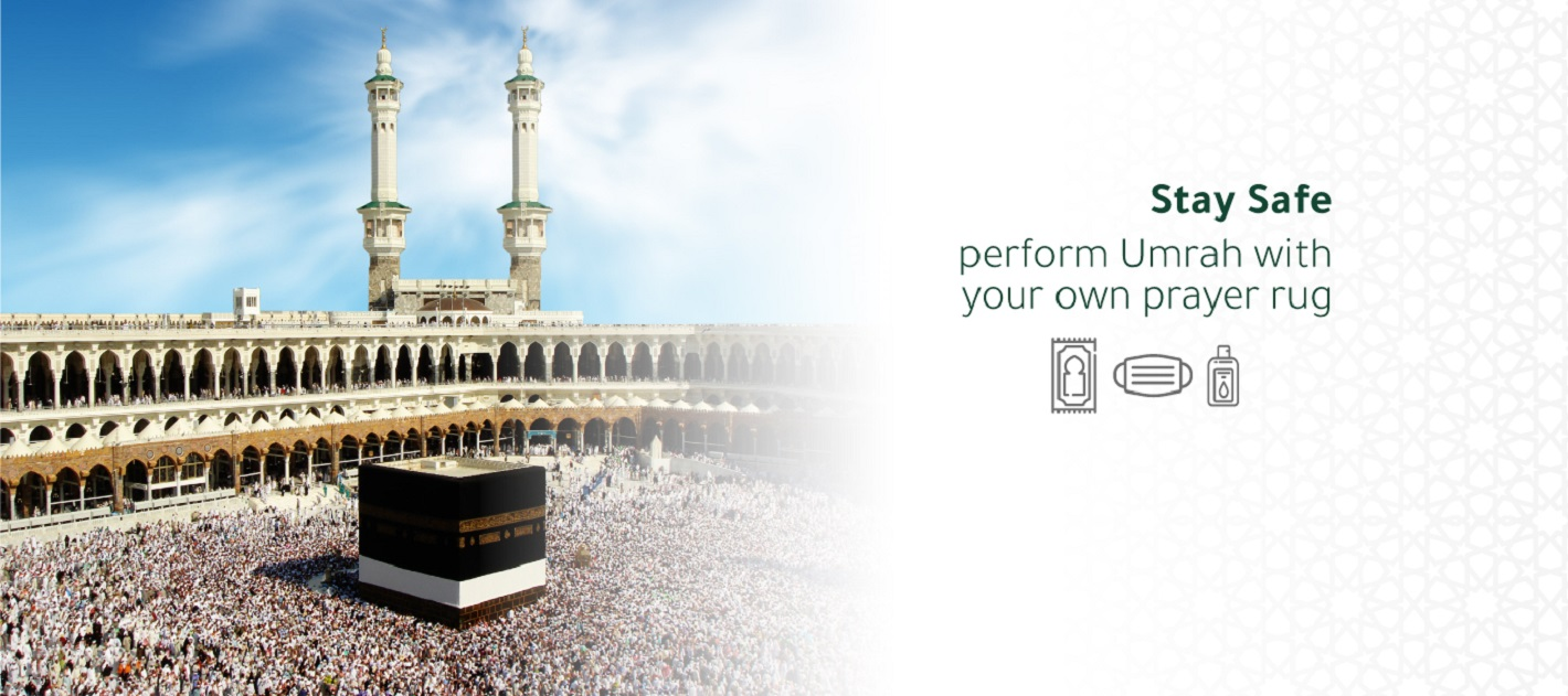 Stay Safe perform Umrah with your own prayer rug